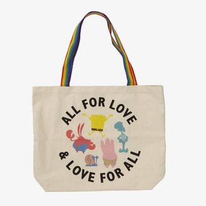 SpongeBob SquarePants Pride Tote Bag